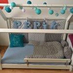 dětská postel - domeček