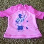 Plavkové triko Minnie Mouse,zn.Disney,vel.68
