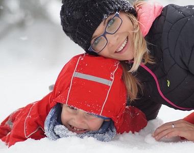Dítě v zimě  1fcf2f28ef