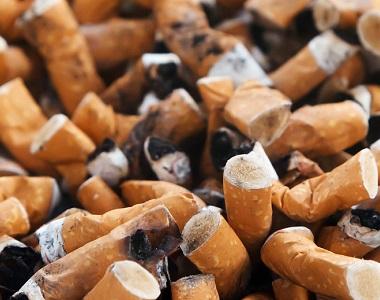 Natalie pěkné kouření