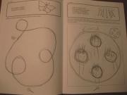 Přídatná výtvarná kreace - nevím, jak to bude procházet tyhle malůvky ve škole...